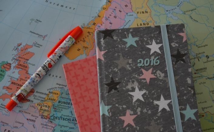 Kalender wie dieser helfen beim Überblick der Termine und Aufgaben (Foto: Nathalie Hammes)
